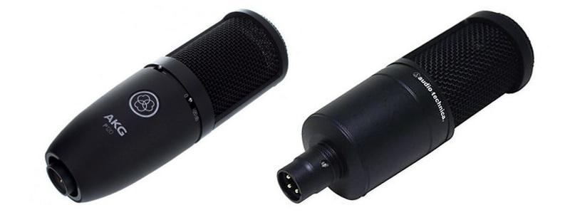 Разница в звучании голоса диктора - микрофоны