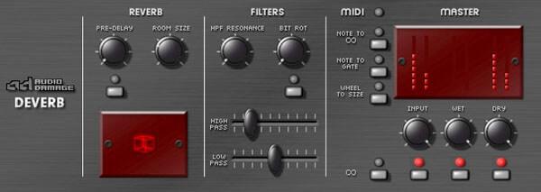 Эффект для обработки голоса Ревербератор (Reverberator)